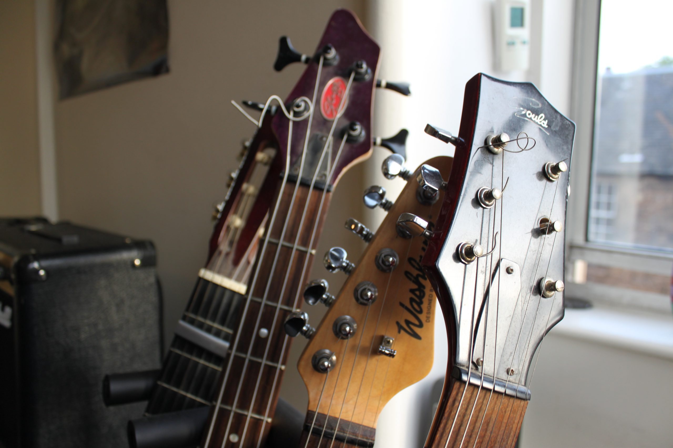 Guitar and bass lessons